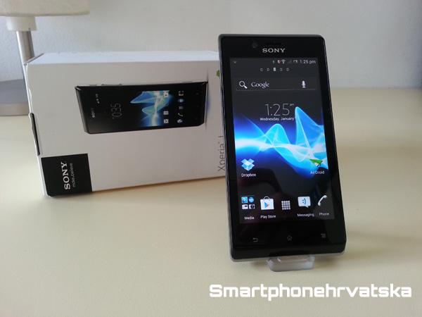 Na testu: Sony Xperia J