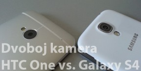 HTC One vs. Galaxy S4 - kamerom na kameru