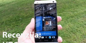 Recenzija: HTC One (Video)