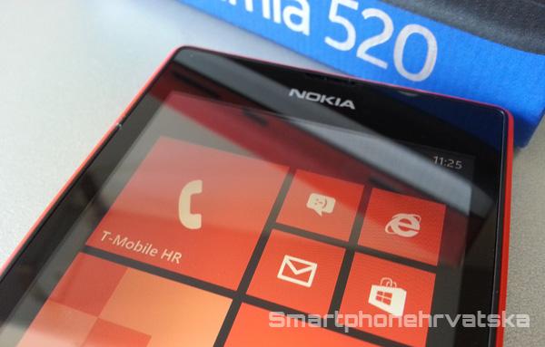 Lumia 520 test mobitela