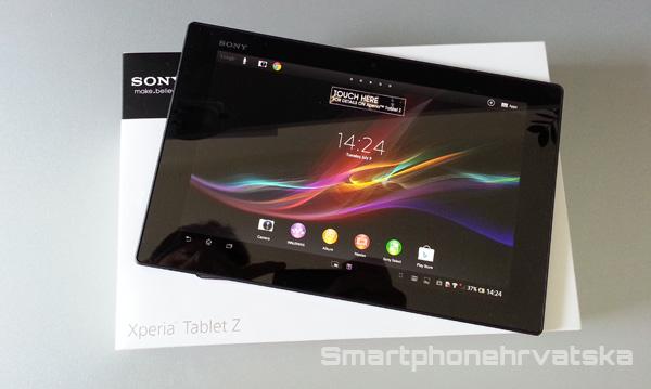 Sony Xperia Tablet Z test