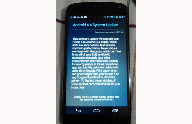 Krenula Android 4.4 nadogradnja za Nexus 4
