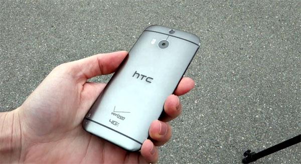 HTC One M8 drop test, vodootpran