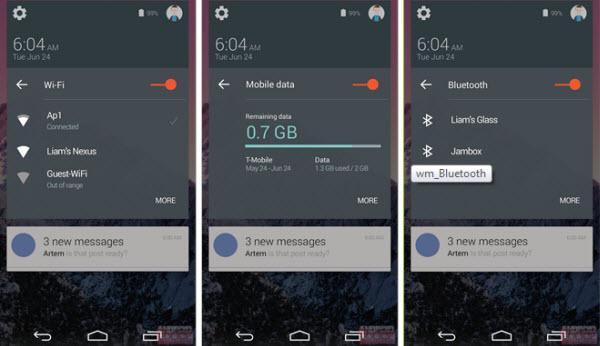 Android 5 lollipop screenshot 1