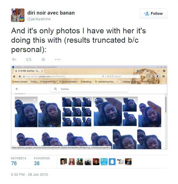 Google Photos gorila