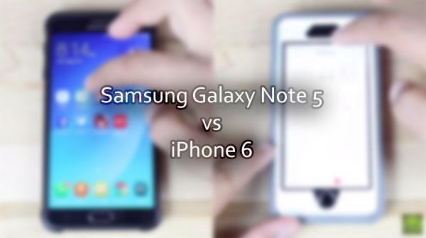 Galaxy Note 5 vs. iPhone 6 u testu brzine