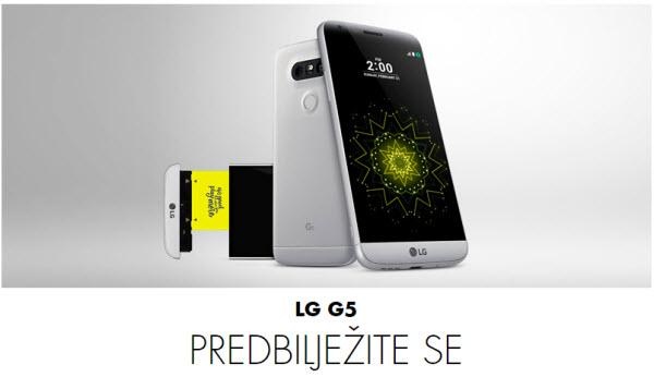 LG G5 predbilježbe u Vipnetu