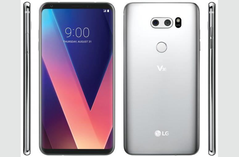 LG V30 službeni render