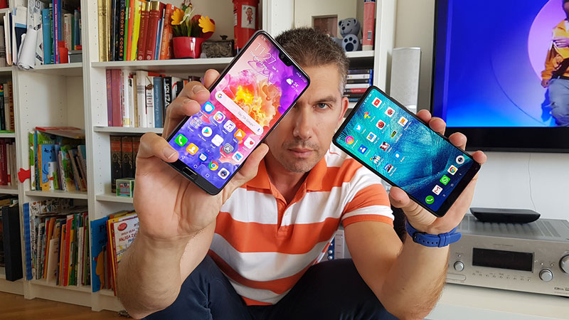 Huawei P20 Pro vs. Xiaomi Mi Mix 2S - Usporedni test