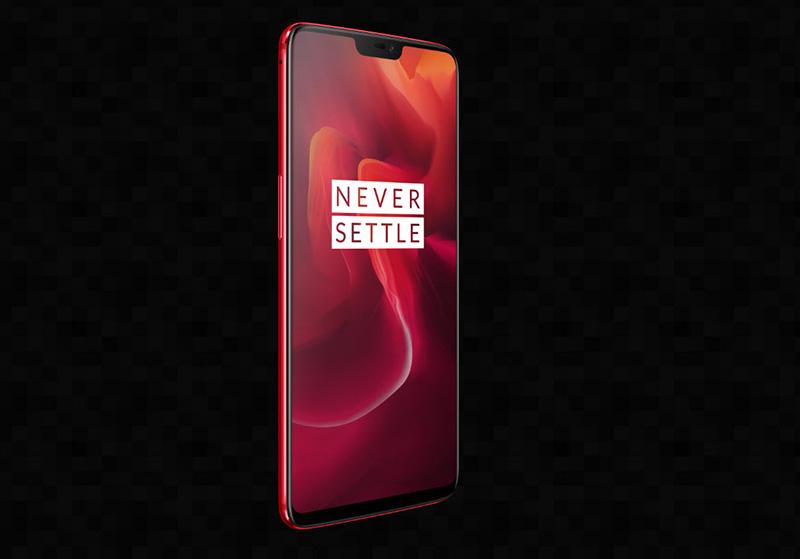 OnePlus 6 crveni