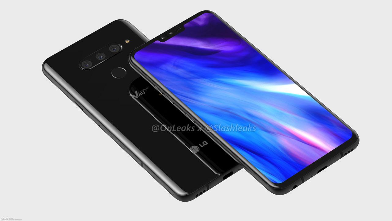 LG V40 - svježi renderi i video
