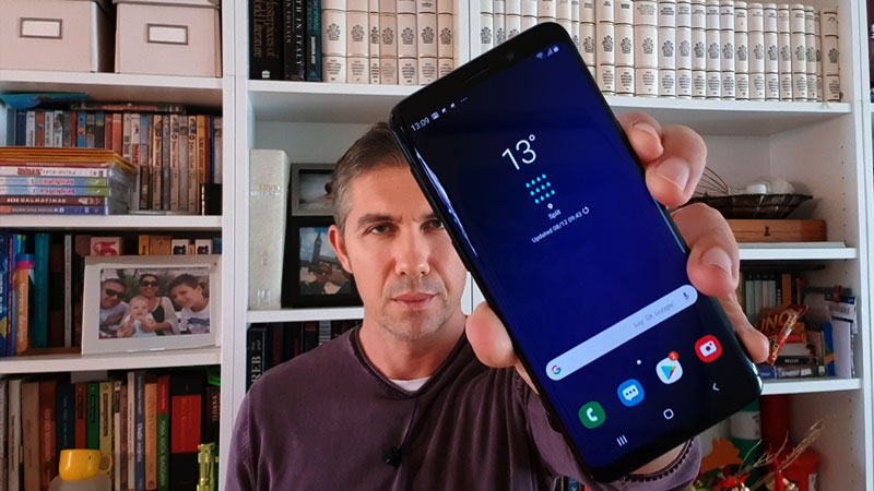 galaxy s9 android pie one ui video