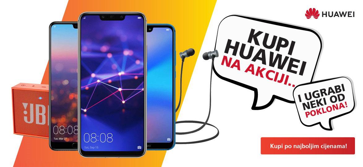 Huawei modeli na akciji u mobis.hr!
