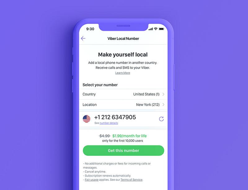 Viberov lokalni broj putnicima i međunarodnim poduzetnicima omogućuje razgovore i slanje poruka bez roaming naknada