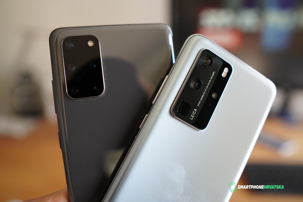 Galaxy S20+ vs. Huawei P40 Pro