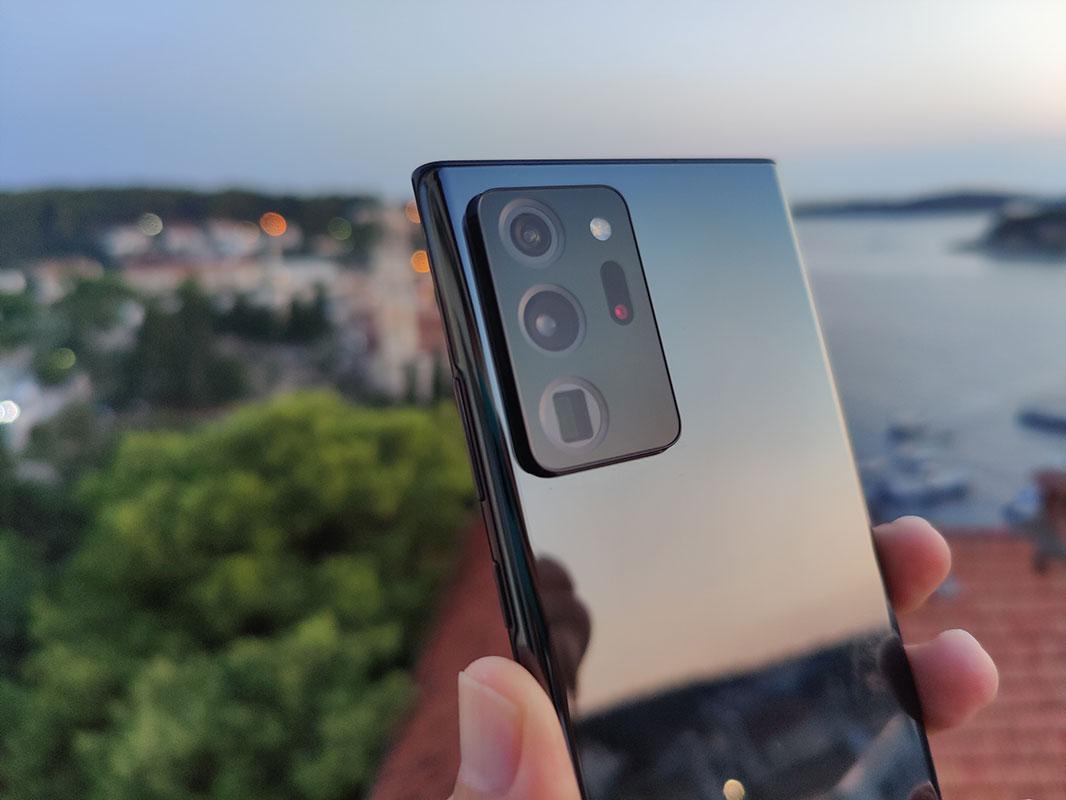 Galaxy Note 20 kamera recenzija