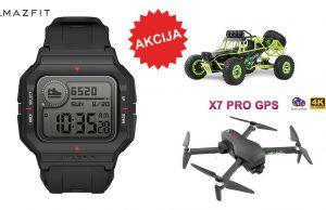 Nova akcija u Cafagu: Amazfit Neo smartwatch, 4K dron i RC terenac