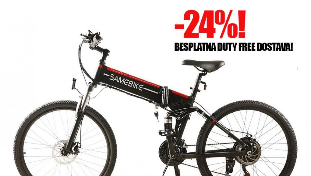 Mazni preklopni e-bike na akciji, osigurana besplatna duty free dostava