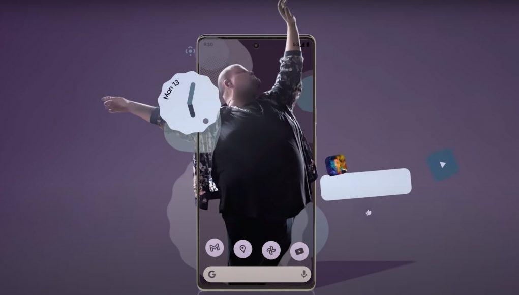 Pixel 6 Promo video