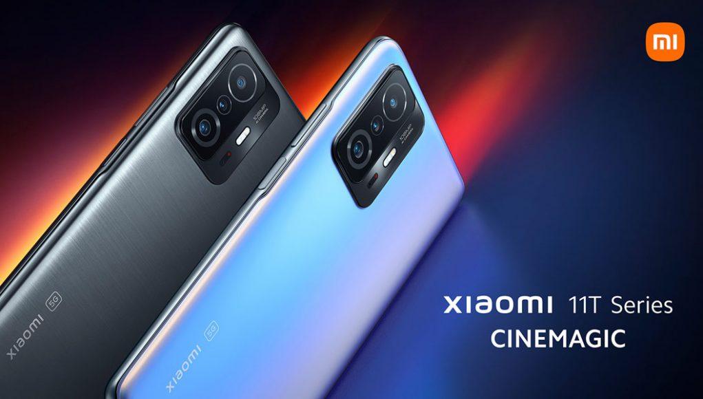 Xiaomi 11T serija službeno vani: 120Hz AMOLED, 120W punjenje, 108MP kamera i SD888 za €650