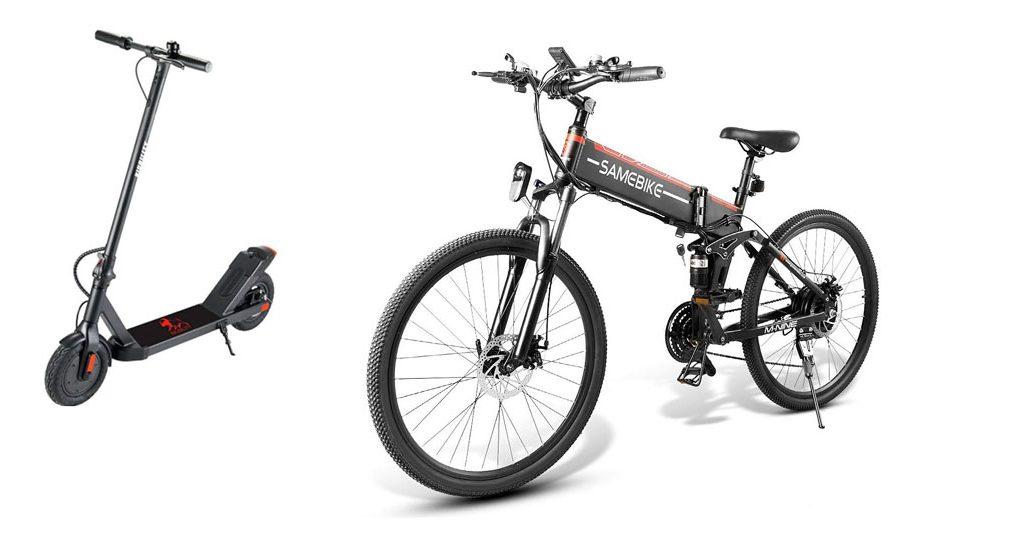 još jedan električni romobil i bicikl na akciji